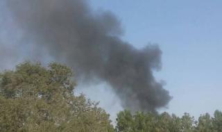 عاجل :شاهد بالصورة انفجار يهز مدينة المنصورة عدن قبل قليل