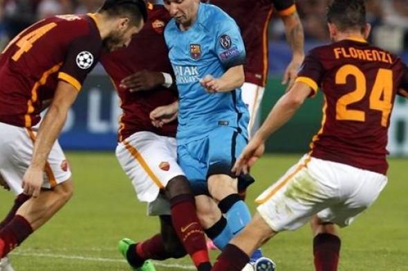 بث مباشر برشلونة وروما بين سبورت