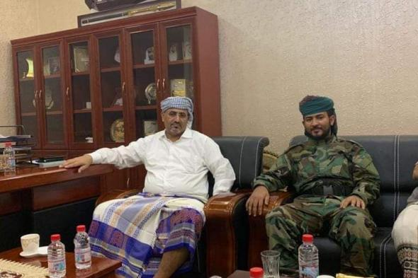 القائد الزبيدي يشيد بقيادات وأفراد الحزام بأحور