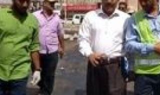 """القائم بأعمال رئيس المنطقة الحرة عدن """" المدحجي """" يشيد بمستوى الخدمات والتخطيط السليم لمدينة إنماء السكنية بمديرية البريقة"""