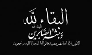 الكاتب الصحفي المصري عادل حمودة يعزي المهندس محمود الجمال في وفاة والدته