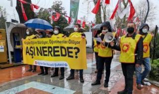 معلمون أتراك ينددون بإهمال حكومة أردوغان