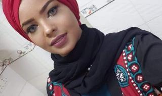 انتصار الحمادي شابة معتقلة لأن