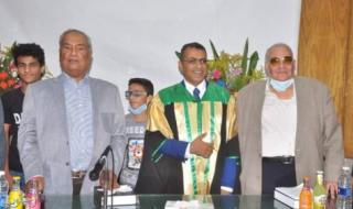 أسرة الجنوب تهنىء الدكتور جمال محسن باراس بحصوله على الدكتوراة من جامعة عين شمس بمصر