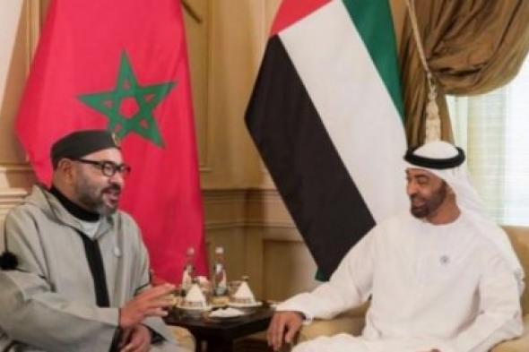 ملك المغرب يزور محمد بن زايد في مقر إقامته بالمغرب