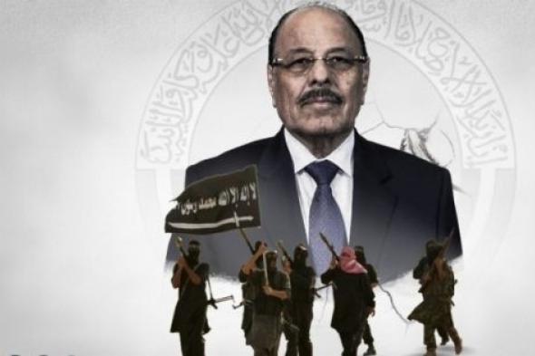 اعلام علي محسن الاحمر يواصل التحريض على السعودية لافشال إتفاق الرياض