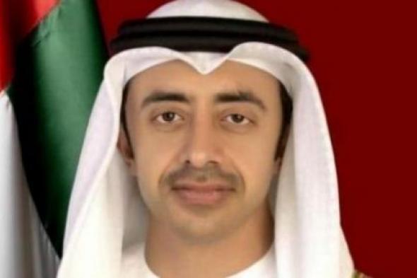 عبدالله بن زايد: حريصون على دعم التعاون العربي - الصيني