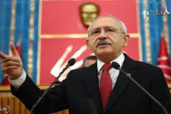 زعيم المعارضة التركيةينتقد سياسة أردوغان