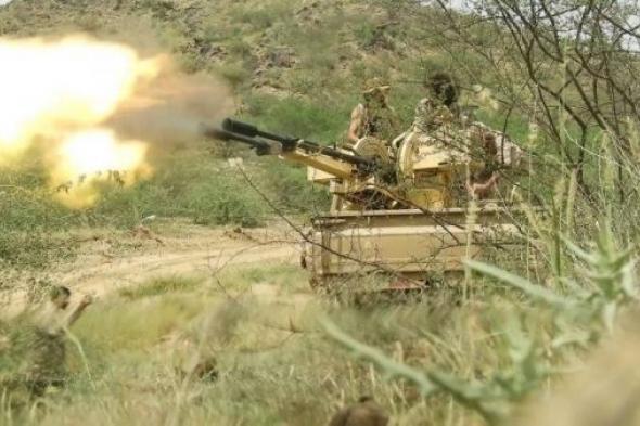 القوات الحكومية تنفذ عمليات إغارة ناجحة على عدد من مواقع الحوثيين شمال الضالع